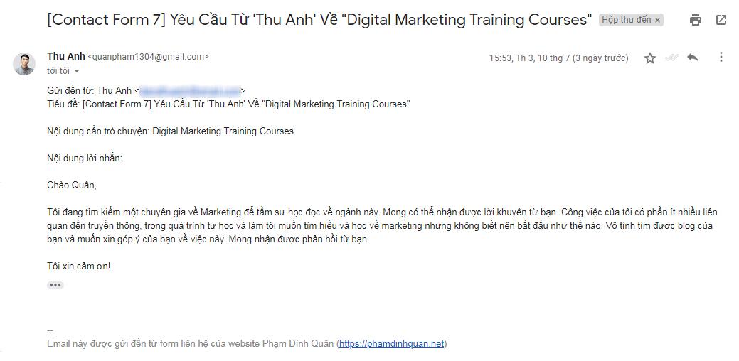 Quy trình chuyển đổi đối tượng mục tiêu thành khách hàng tiềm năng - Pham Dinh Quan Blog