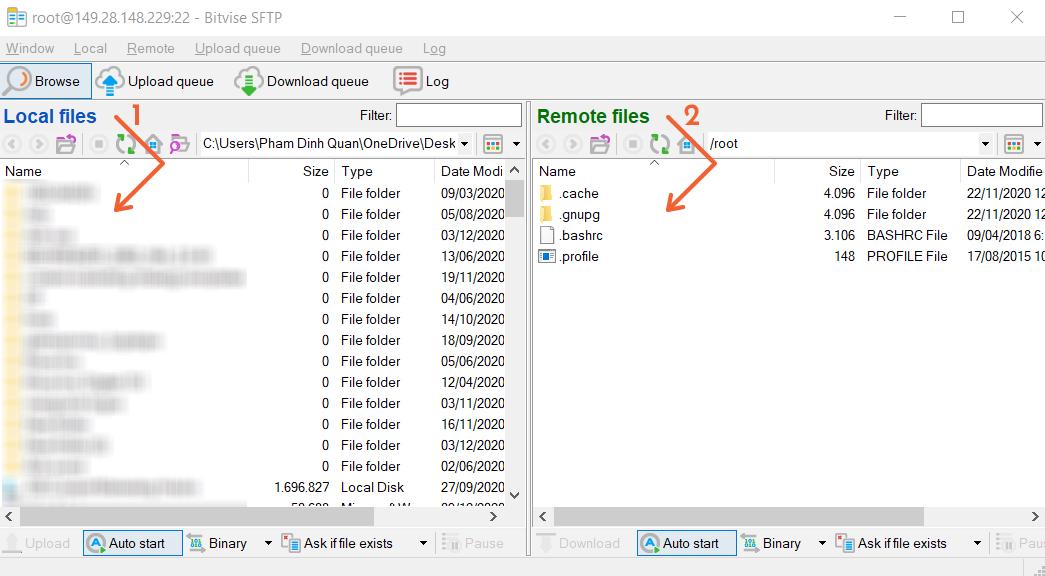 Bitvise SFTP